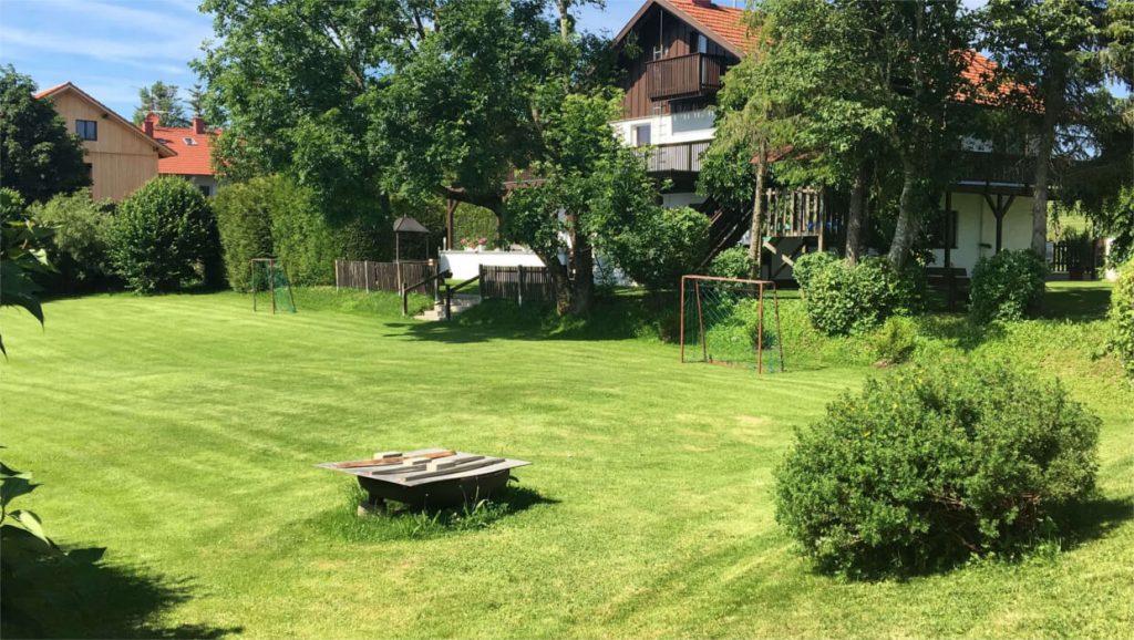 Gruppenhaus im Allgäu Terrasse